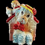 Vintage Ceramic Bank - Poodles in the Dog House