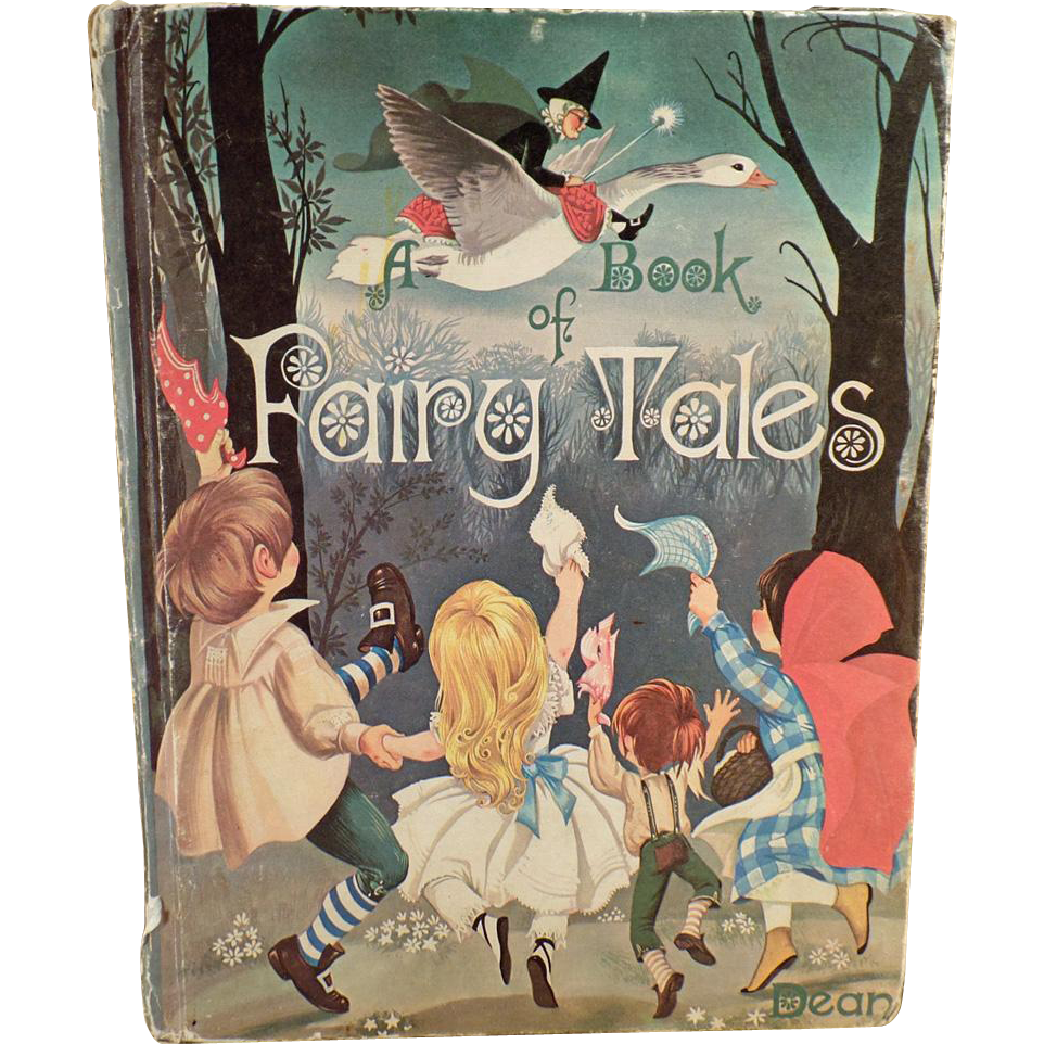 Child's Vintage Book of Fairy Tales - 1977 Hardbound - Beautiful Illustrations