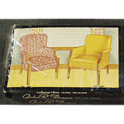 Vintage Matchbooks - Fort Smith Chair Company - Advertising Match Books