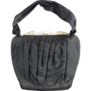 Vintage Evening Bag - Guild Creations with Pretty Rhinestone Clasp