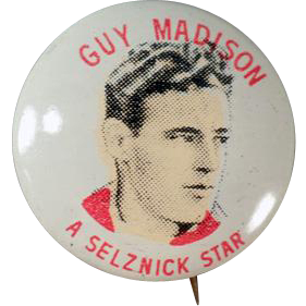 Vintage Pinback Button - Quaker Cereals - Guy Madison