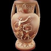 Vintage Schafer and Vater Grecian Style Porcelain Vase