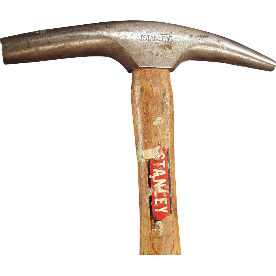 Vintage #602 Stanley Round Head Claw Hammer -  Magnetic, Upholsterers Tack Hammer