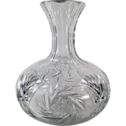 Vintage Wine or Water Decanter with Attractive Design