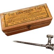 Vintage Lawrence Tap for Champagne and Other Effervescent Drinks
