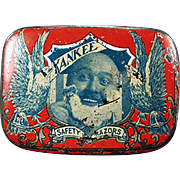 Antique Razor Tin - Yankee Safety Razor Tin - Early 1900's