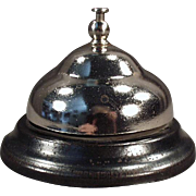 Vintage Counter Bell for Hotel Desk or General Store Counter