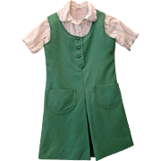 Vintage Girl Scout Uniform - Three Piece Outfit - Size 10