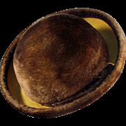Ladies Vintage Felt Hat - Littler - Lush & Stylish