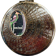 Vintage Jonteel Compact with Original Label