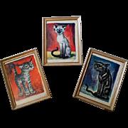 Vintage Gig Kitty Prints - Framed - Yard Boy / Ecstasy / The Growler