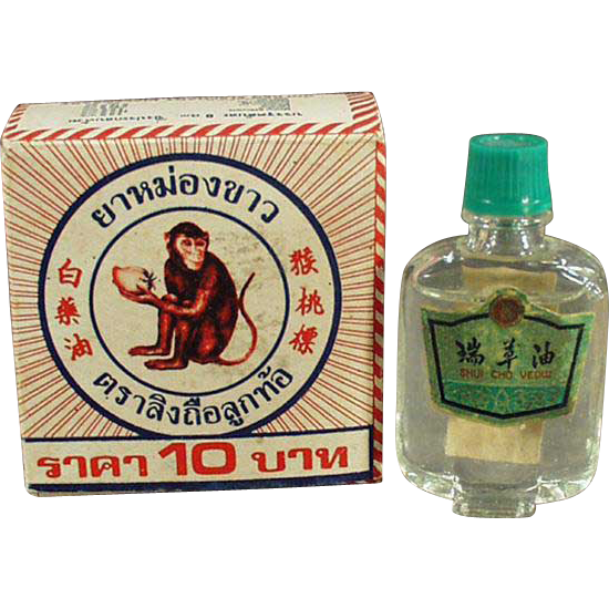 White Monkey Balm Box and Other Strange Vintage Advertising