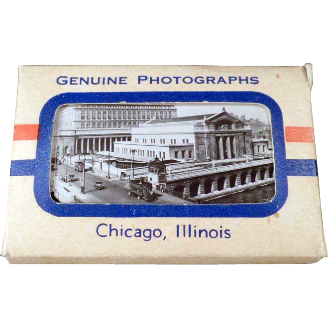 Vintage Photo Pack Mailer - Chicago Promotional