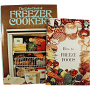 Vintage Recipe Books on How to Freeze Foods