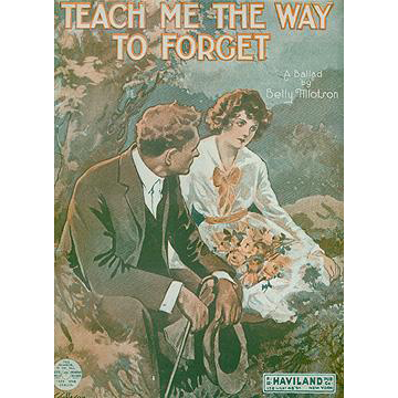 Vintage Sheet Music- Teach Me the Way to Forget