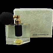 Vintage Evans Perfume Atomizer - Lucite - Evans Arlene with Original Box