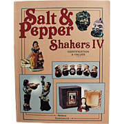 Reference Book on Vintage Salt & Pepper Shakers by Helene Guarnaccia