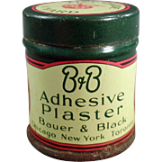 Vintage Medical Tin - B & B Adhesive Plaster