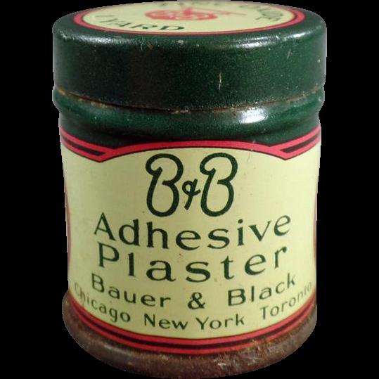 Vintage Medical Tin - B & B Adhesive Plaster