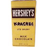 Vintage Candy Box - Hershey's Krackel Bars