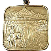 Vintage Key Chain - Idaho Tribute to the Bicentennial 1776 - 1976