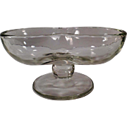 Vintage Double Scoop Sundae Dish - Fun but Simple Soda Fountain Dish - 3 Available