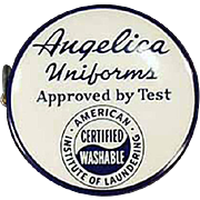 Vintage Celluloid Tape Measure Advertising Angelica Uniforms