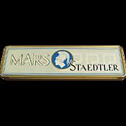 Vintage Metal Pencil Box - Mars Staedtler - Germany