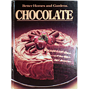 Vintage Better Homes and Gardens Chocolate Recipe Book