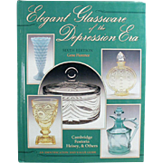 Reference Book - Elegant Glassware of the Depression Era - 6th Edition by Gene Florence