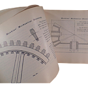 1902 Self Help Book - Mechanical Drawing by N. Hawkins