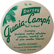 Vintage Medical Tin - Guaia-Camph Ointment Tin