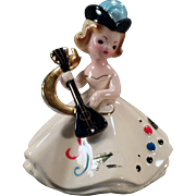 Vintage Josef Original Figurine - October Doll of the Month Series