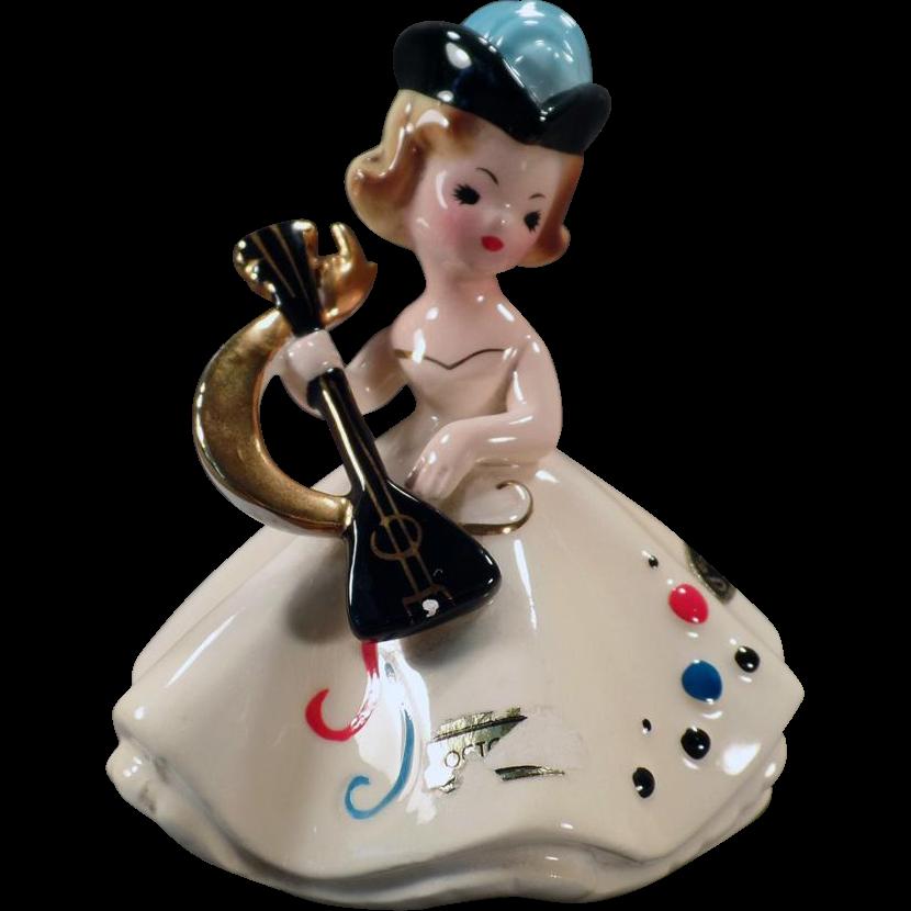 Vintage Josef Original Figurine - October Doll of the Month Series
