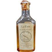 Vintage Nu-Tone Bottle - Old Phonograph Record Renewer