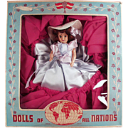 Vintage Duchess Doll - Charm Girl - Dolls of All Nations with Original Box