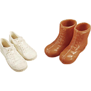 Vintage Ken Doll Shoes for the Athletic Ken - 2 Pair