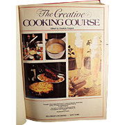 Vintage Cookbook - The Creative Cooking Course by Turgeon