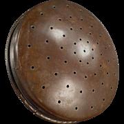 Vintage Watering Can Sprinkler Head - Domed Brass Face