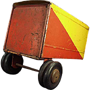 Vintage Pressed Steel Trailer - Hi-Way Transport Trailer