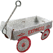 Vintage N.O.S. Christmas Ornament – Express Wagon
