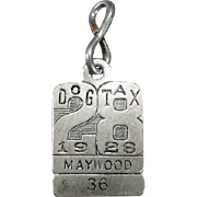 Vintage Dog Tag – 1928 Dog Tax License