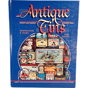Reference Book - Antique Tins by Fred Dodge