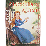 Vintage Story Book - Once Upon a Time - Story of the Frog Prince