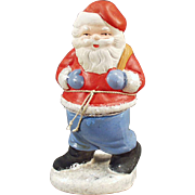 Vintage Candy Container  - Santa Claus made in West Germany
