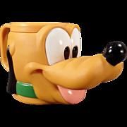 Vintage Disney Pluto Plastic Mug