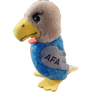 Vintage AFA Souvenir - Plush Falcon Tape Measure
