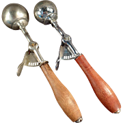 Vintage Pair of Ice Cream Scoops from Orillia Canada - Two (2)