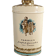 Vintage Talc Tin - Yardley of London English Lavender Talc Tin