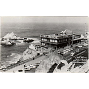 Vintage Postcard - Photograph of the Cliff House of San Francisco